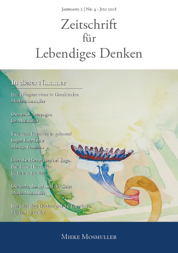 Zeitschrift für Lebendiges Denken - Juli 2018